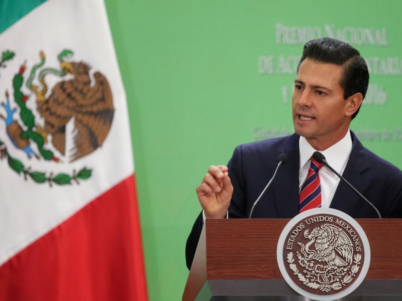 Bild zu Enrique Pena Nieto
