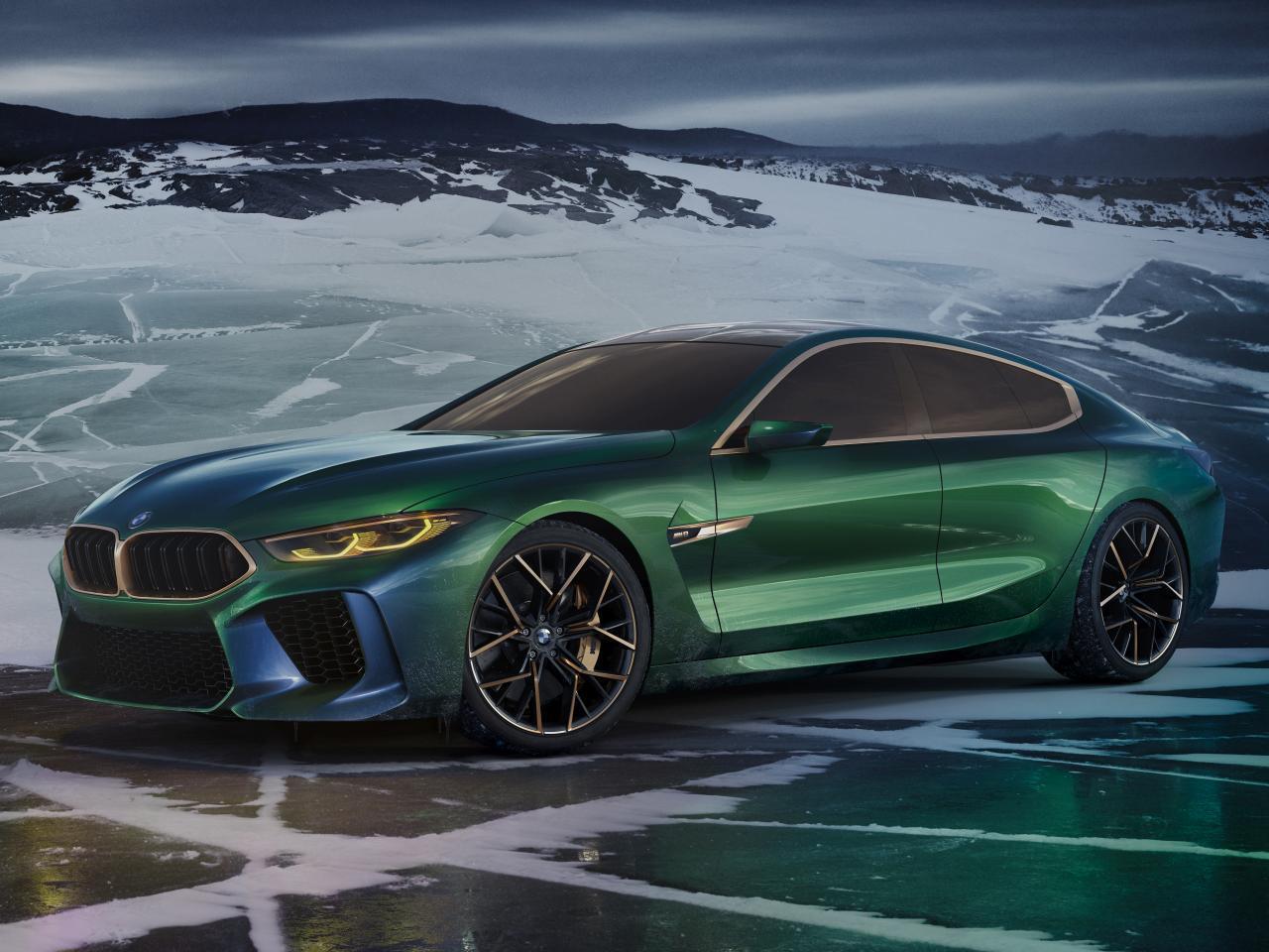 Bild zu BMW Concept M8 Gran Coupé