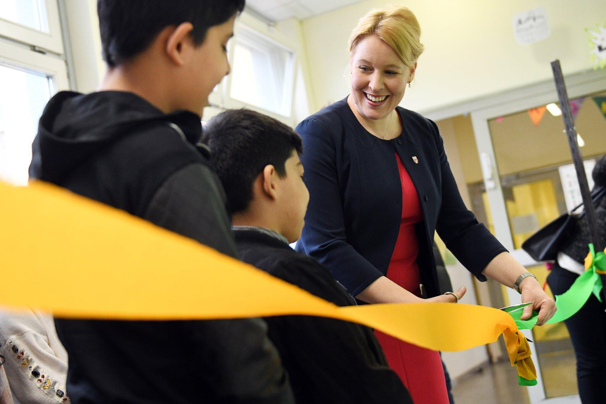Bild zu Neuköllns Bezirksbürgermeisterin Franziska Giffey