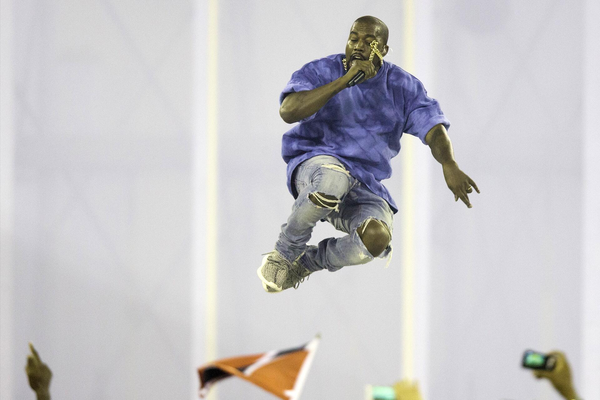 Bild zu Kanye West, Konzert, Wutrede