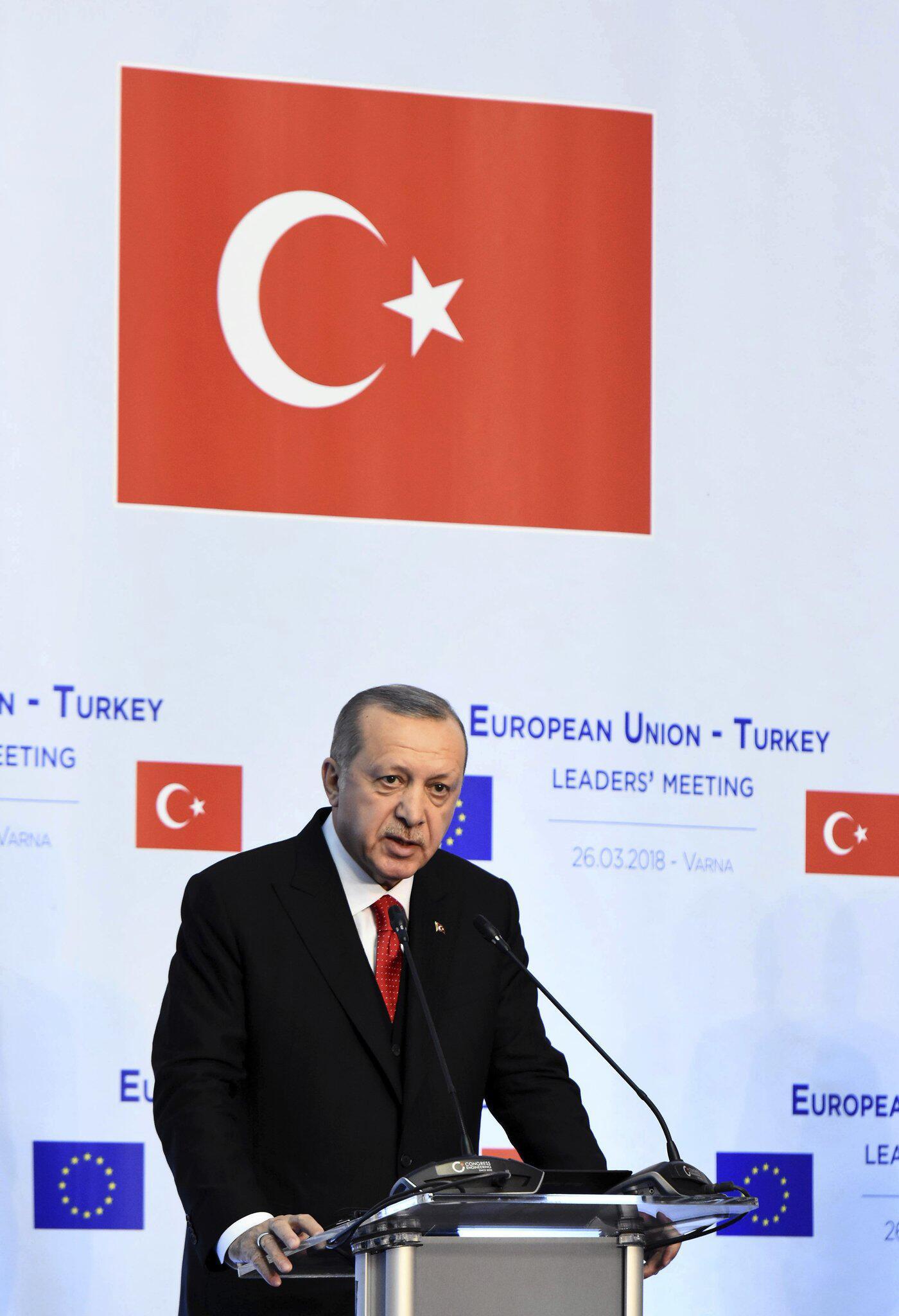 Bild zu Erdogan setzt auf EU-Beitritt