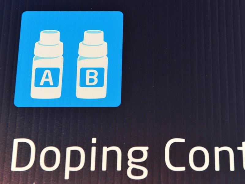 Bild zu Doping-Kontrolle