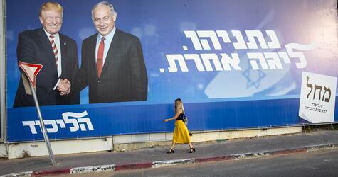 Vor der Neuwahl des Parlaments in Israel