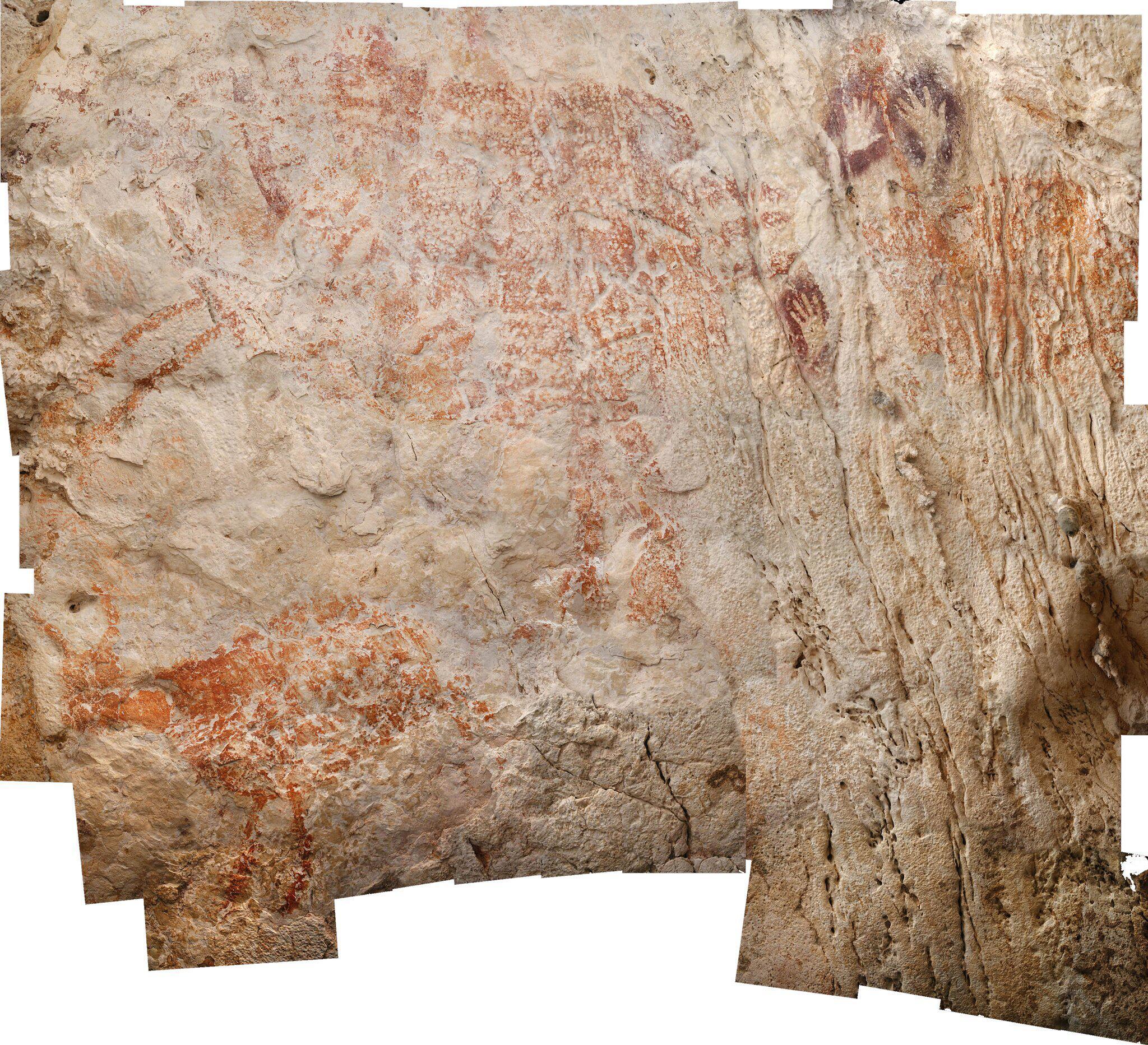Bild zu Höhlenzeichnungen aus Indonesien