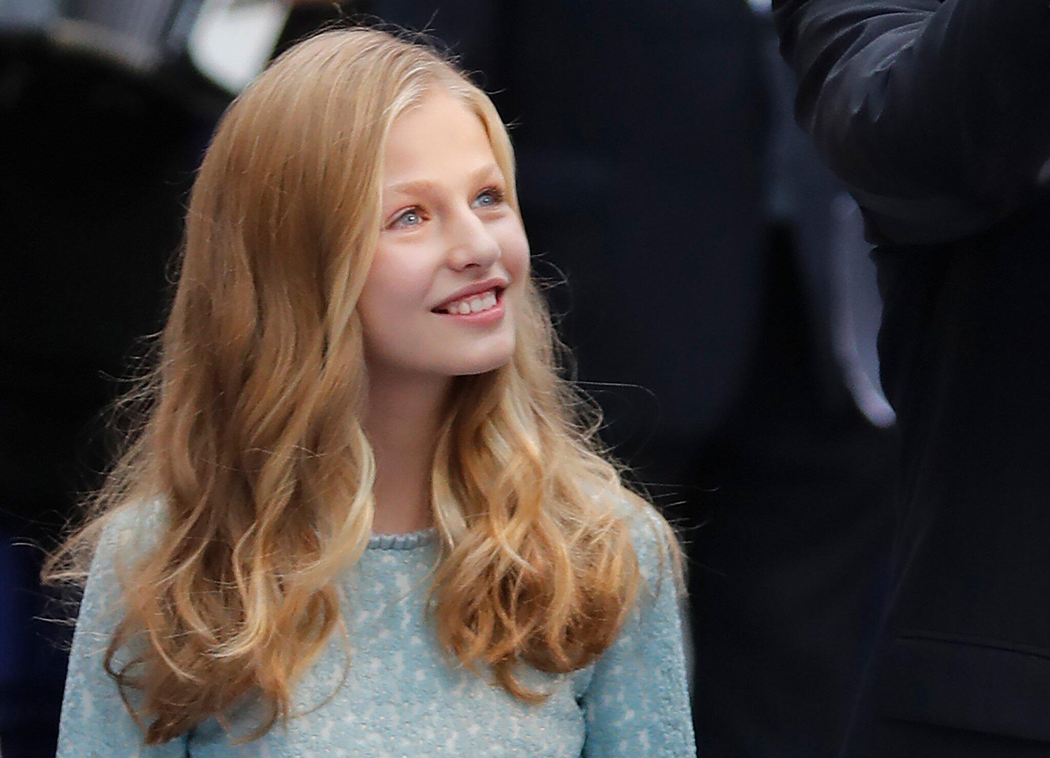 Bild zu Erste öffentliche Rede der spanischen Kronprinzessin Leonor