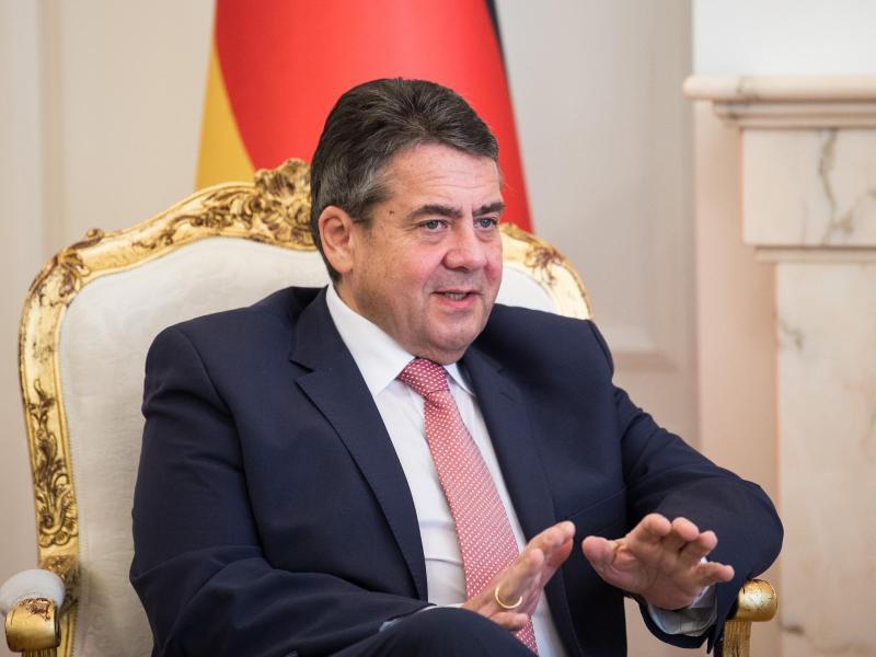 Bild zu Außenminister Gabriel