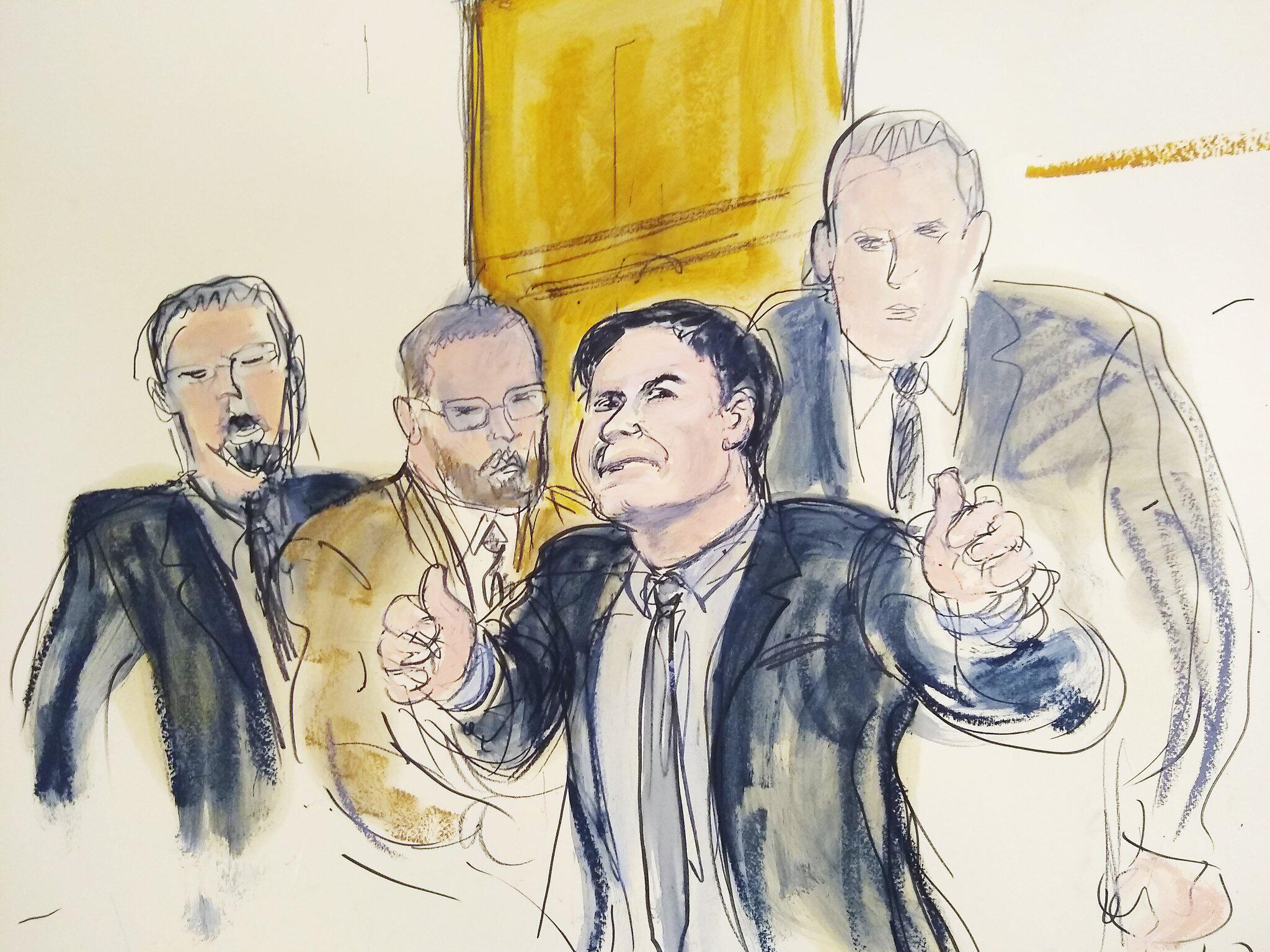 Bild zu Mexikanischer Drogenboss «El Chapo» schuldig gesprochen