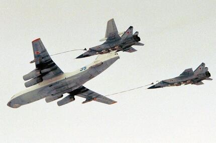 Russische Kampfflugzeuge