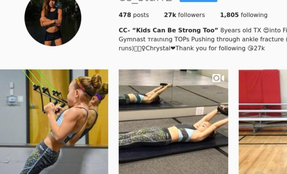 Bild zu Dieses Mädchen ist das jüngste Fitness-Model bei Instagram