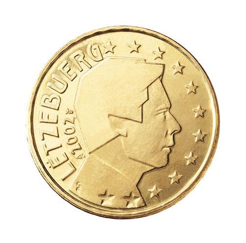Bild zu 50-Cent-Münze aus Luxemburg