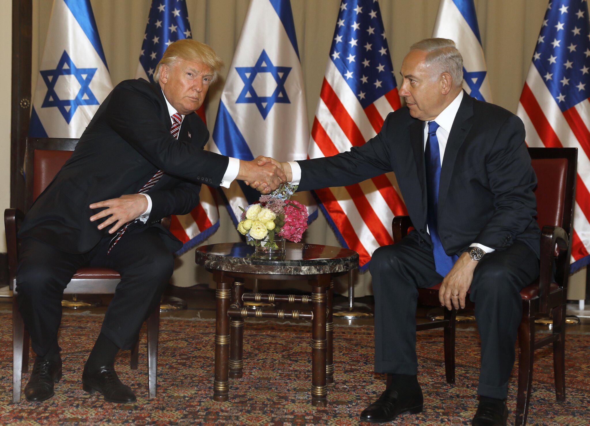 Bild zu US-Präsident Trump in Israel