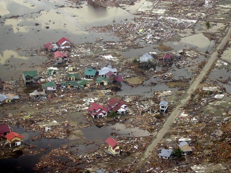 Bild zu Überschwemmt und zerstört