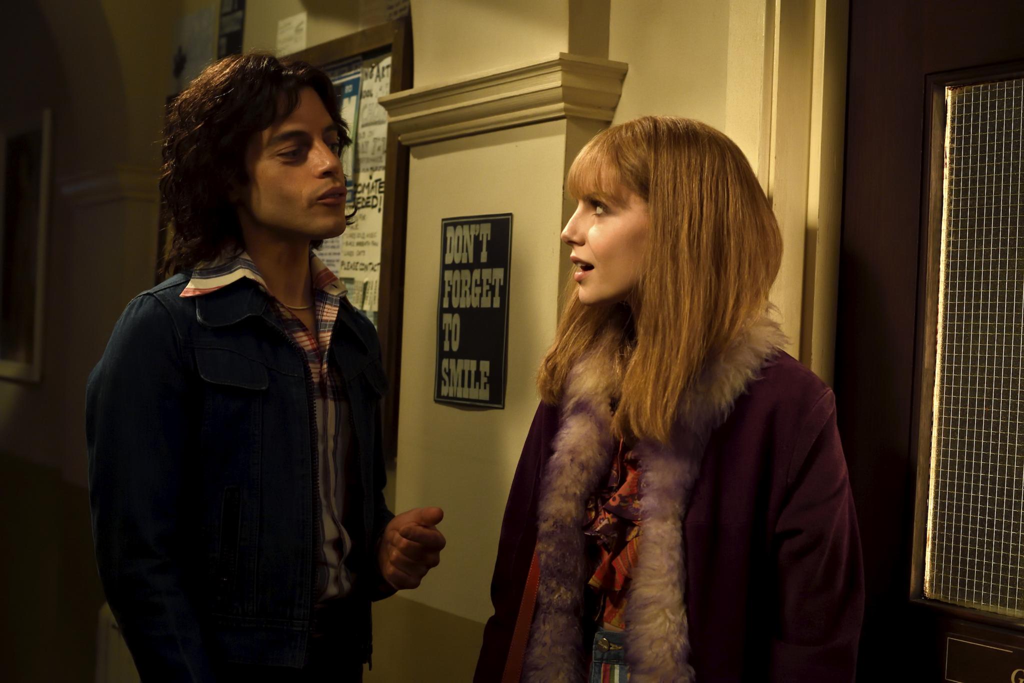 Bild zu Rami Malek, Lucy Boynton in Bohemian Rhapsody
