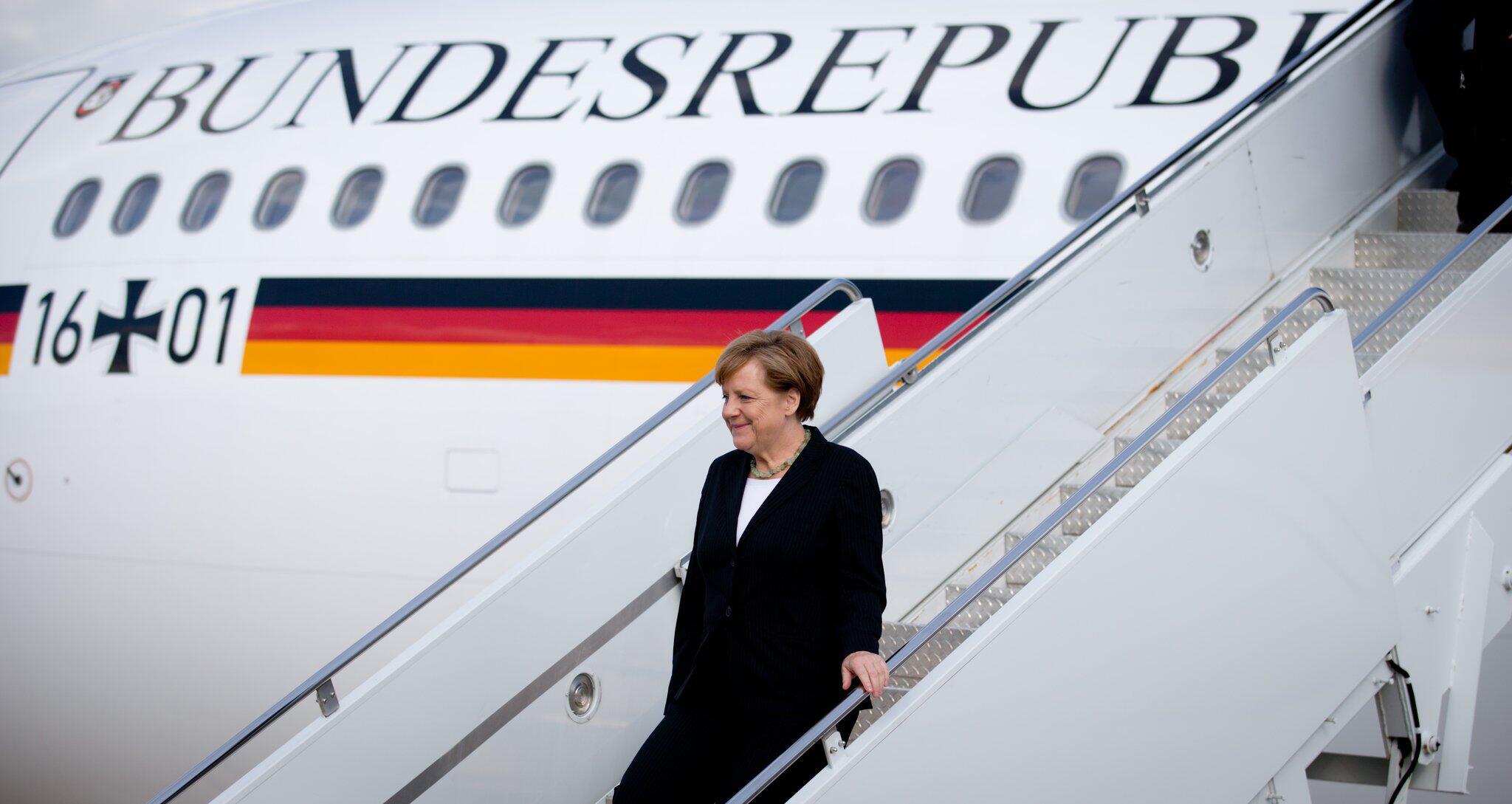 Bild zu Regierungsflugzeug «Konrad Adenauer»
