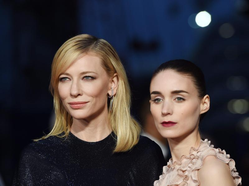 Bild zu Cate Blanchett + Rooney Mara
