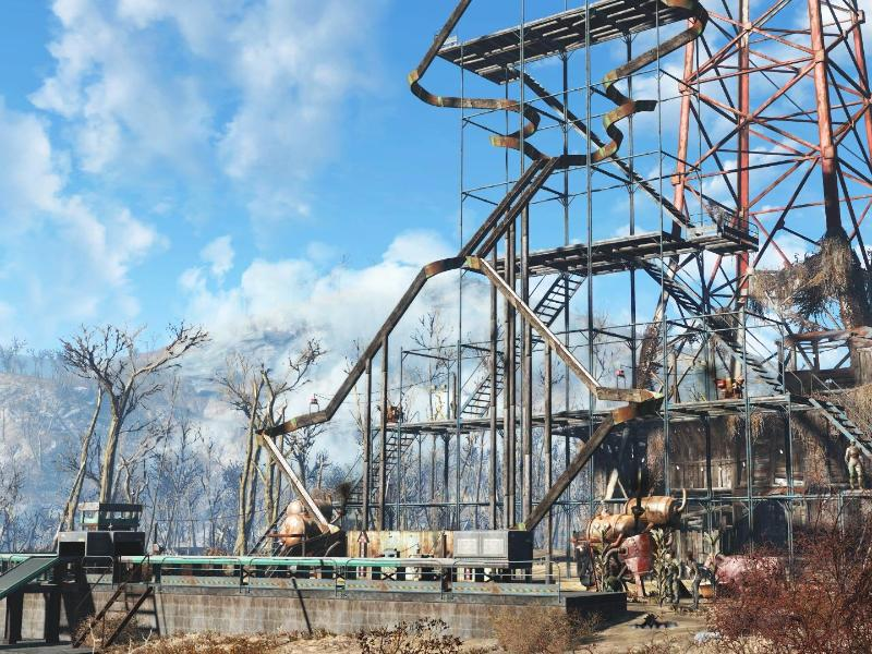 Bild zu Fallout 4 Riesenmurmelbahn