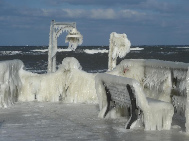 Bild zu Eislandschaft