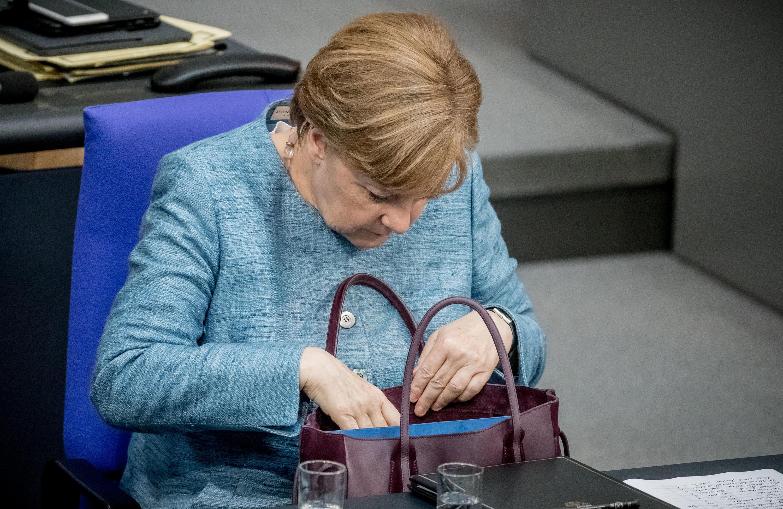 Bild zu Angela Merkel.