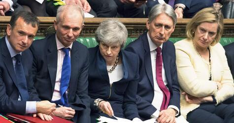 Großbritannien Brexit Theresa May