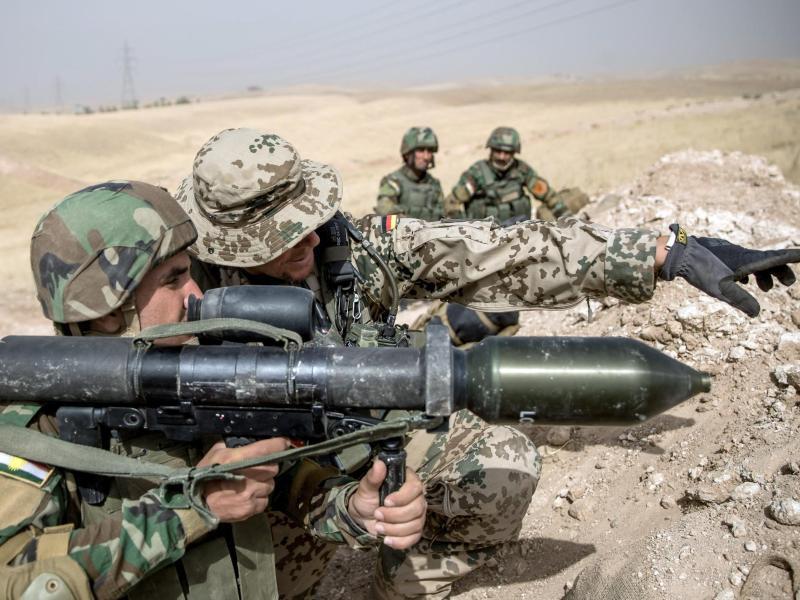 Bild zu Bundeswehr im Irak