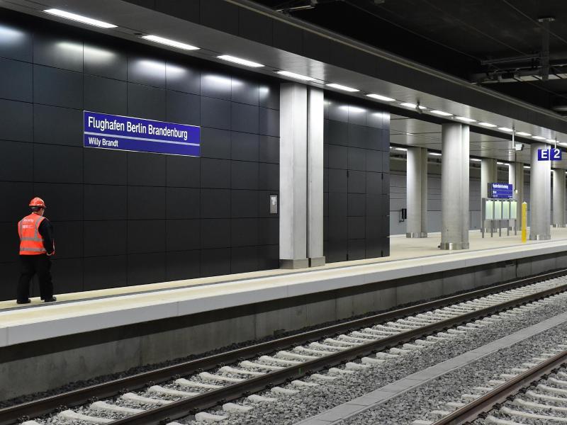 Bild zu BER-Flughafenbahnhof