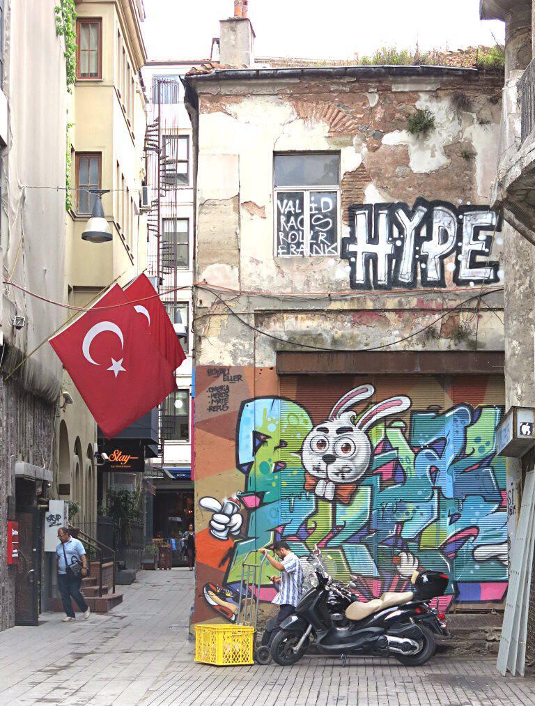 Bild zu Moderne Streetart