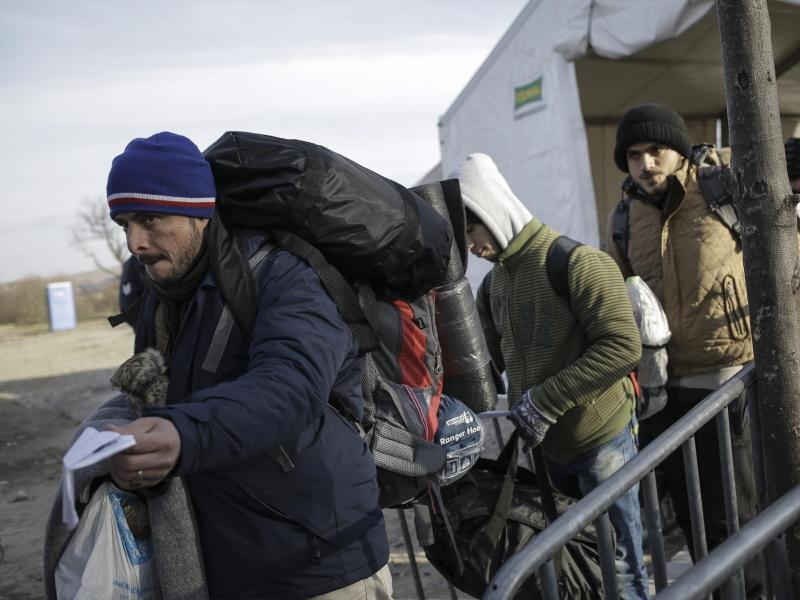 Bild zu An der griechisch-mazedonischen Grenze