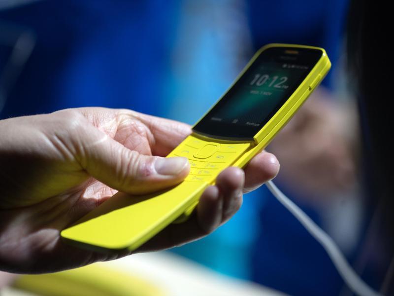 Bild zu Retro-Slider Nokia 8110