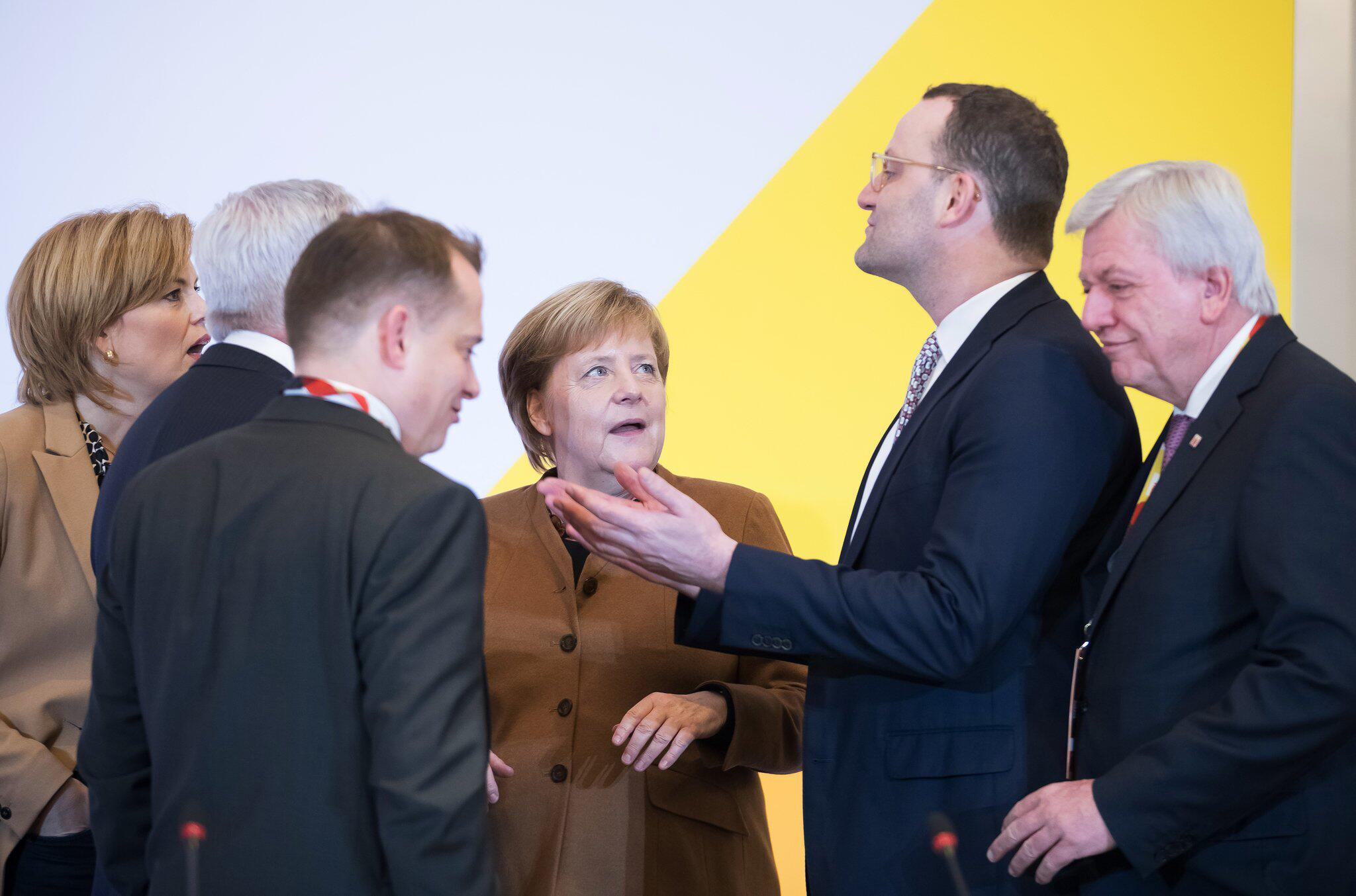 Bild zu Vor dem CDU-Bundesparteitag