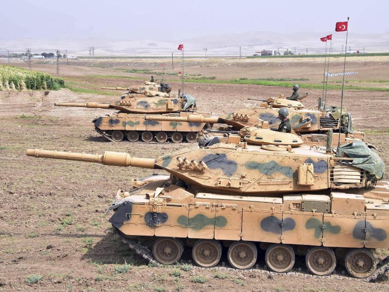 Bild zu Türkisches Manöver an der Grenze zum Irak