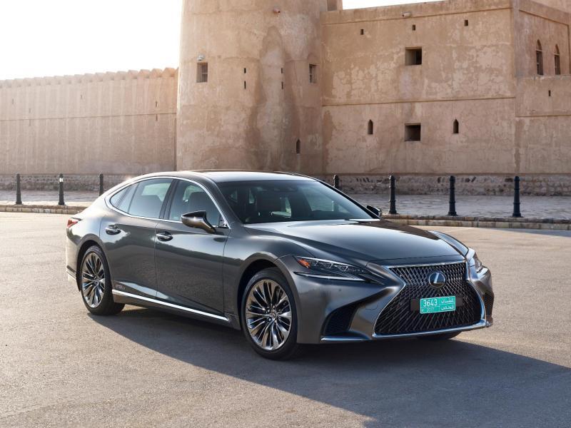 Bild zu Neuer Lexus LS