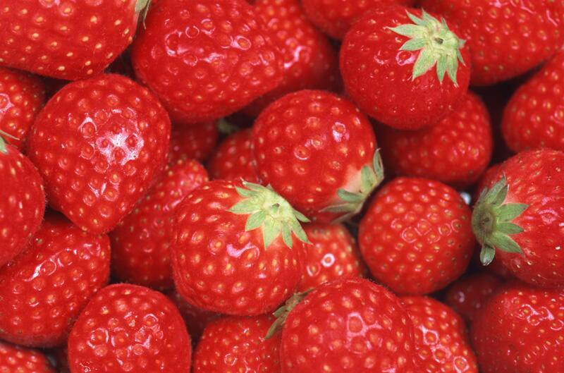 Bild zu Erdbeeren