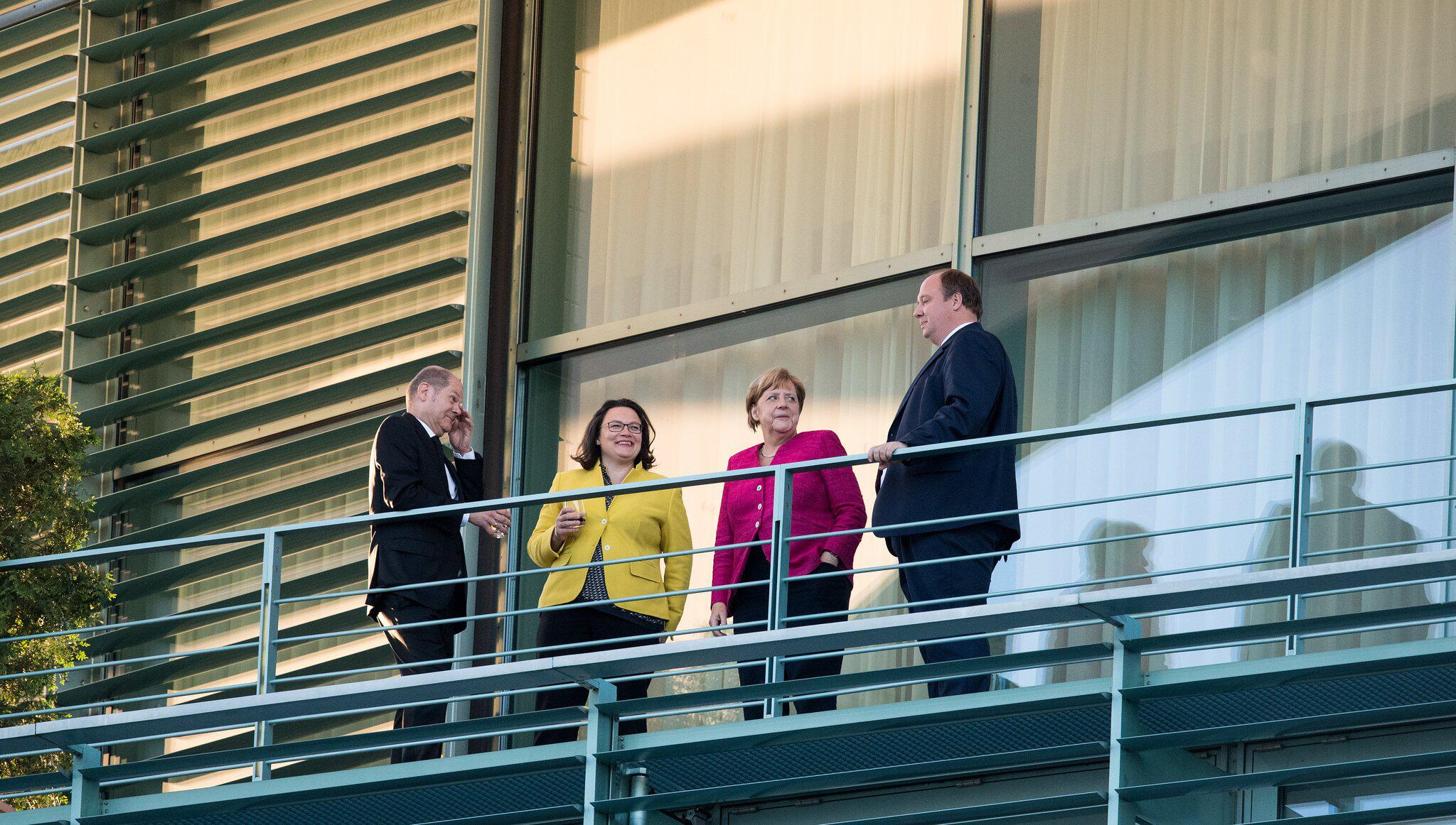 Bild zu Koalitionsgipfel im Kanzleramt