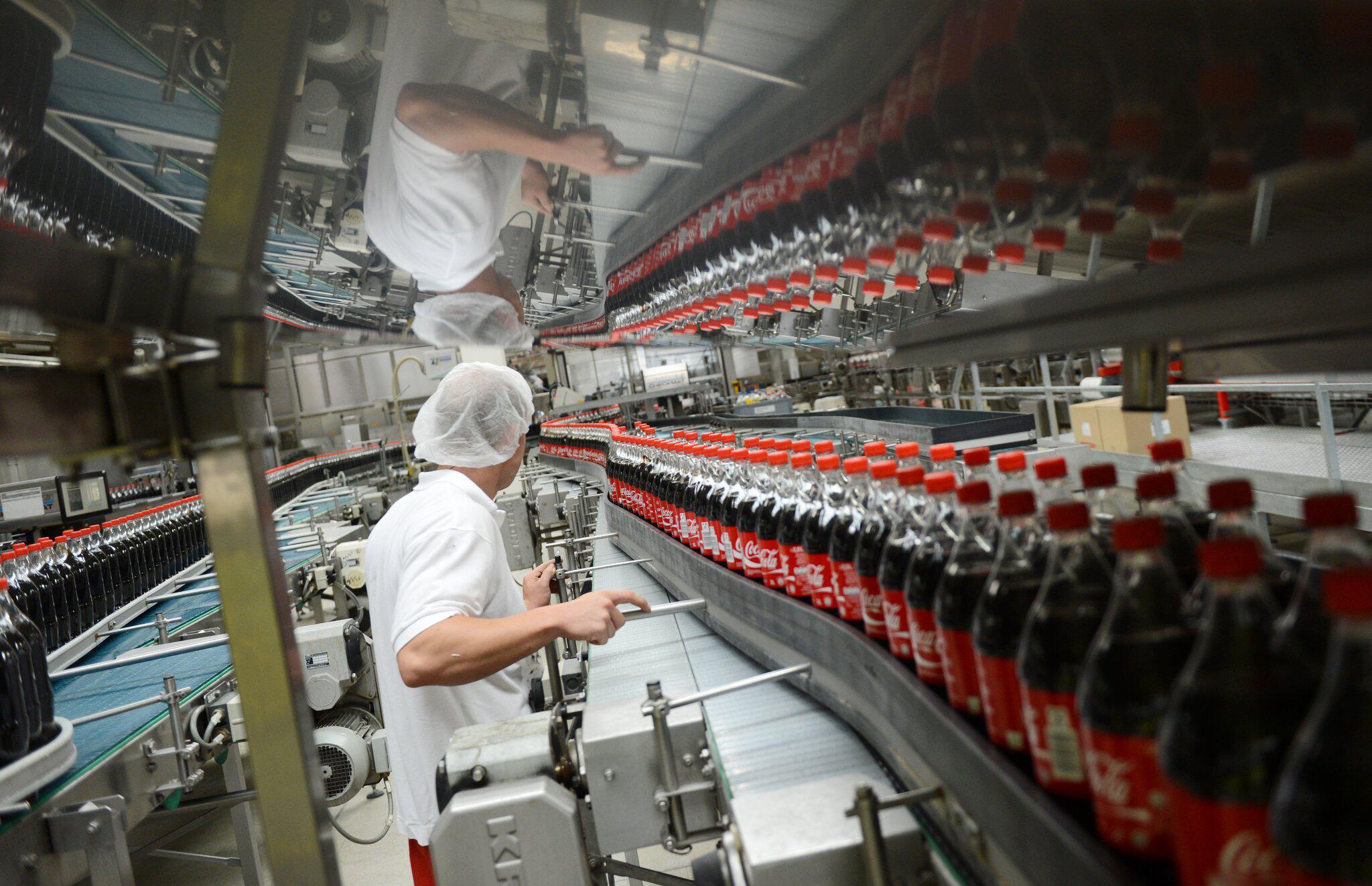 Bild zu Coca-Cola-Produktion, Warnstreik
