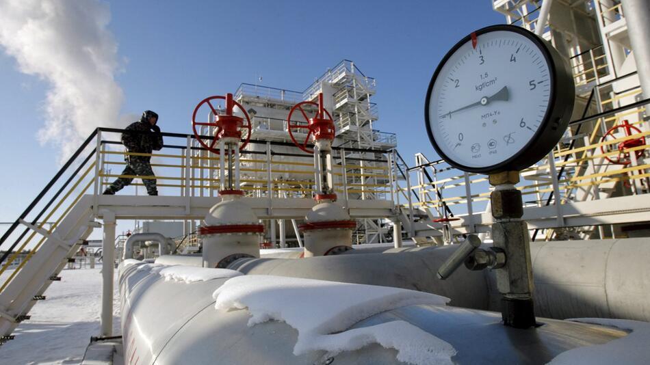 Ölfeld in Russland