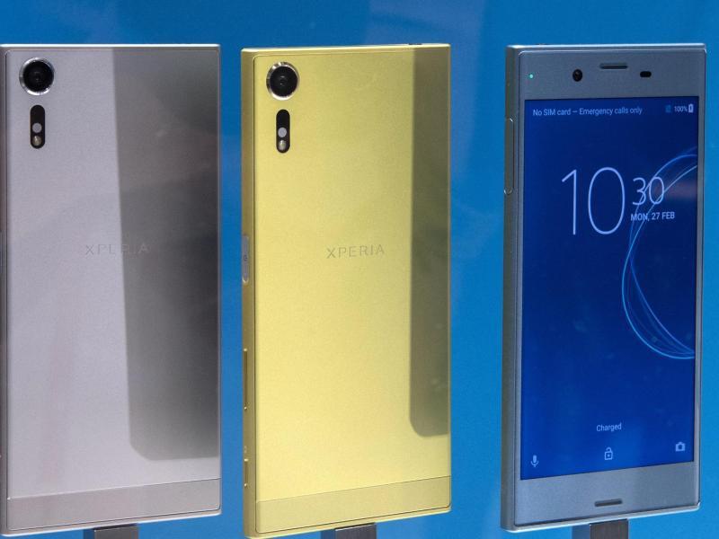 Bild zu Farbenprächtiges Sony Xperia XZ