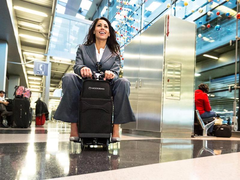 Bild zu Koffer als Gefährt
