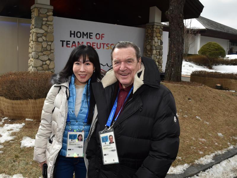 Bild zu Olympia-Gäste