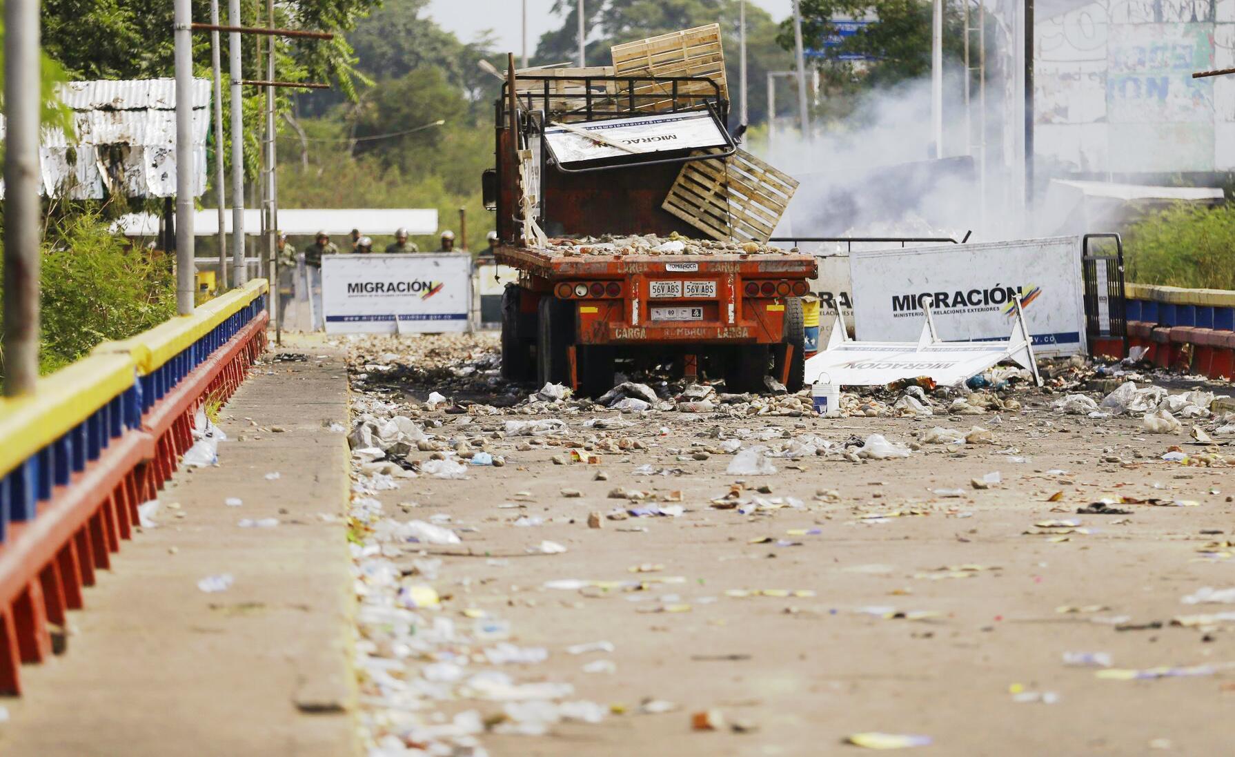 Bild zu Politische Krise in Venezuela - Grenze zu Kolumbien