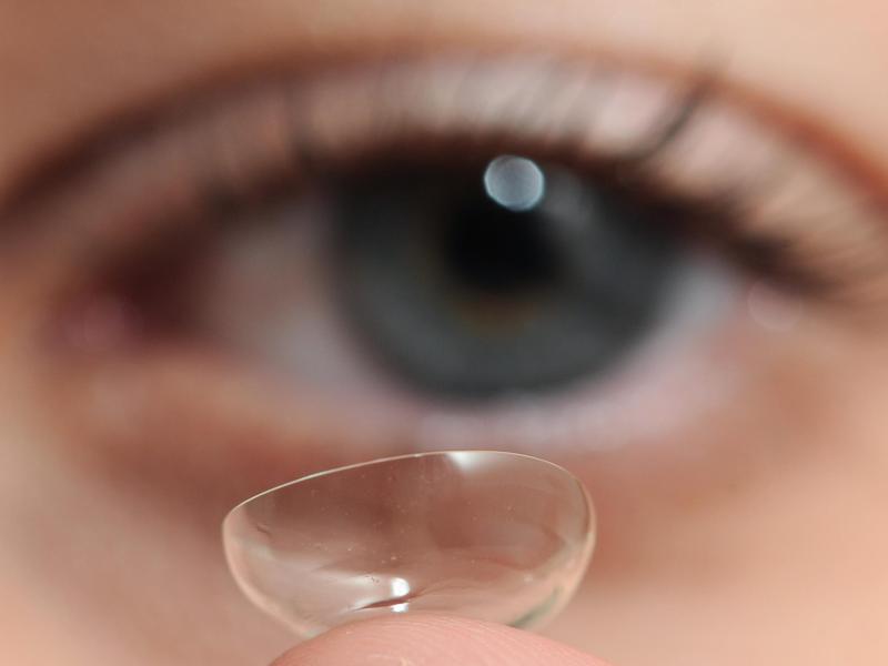 Bild zu Kontaktlinse