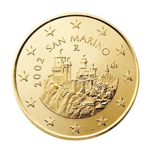 Bild zu 50-Cent-Münze von San Marino