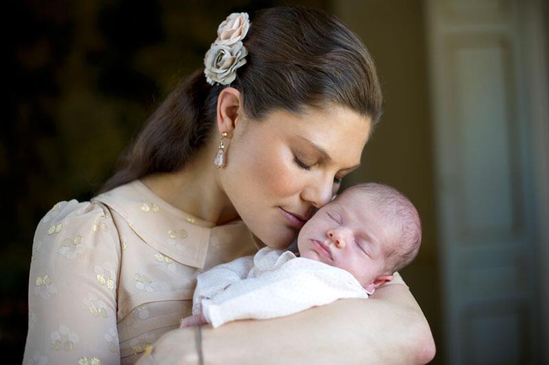 Bild zu Prinzessin Victoria mit Estelle