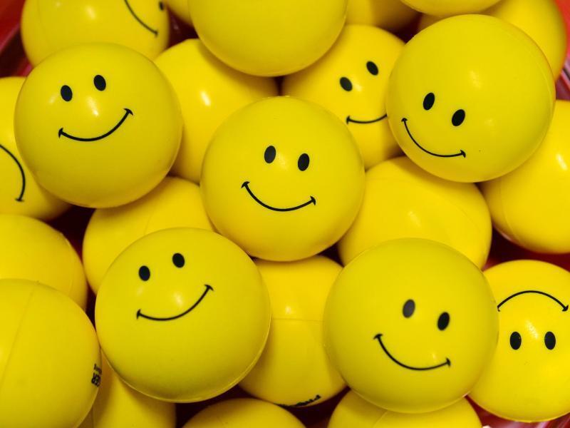 Bild zu Lächeln nicht vergessen!