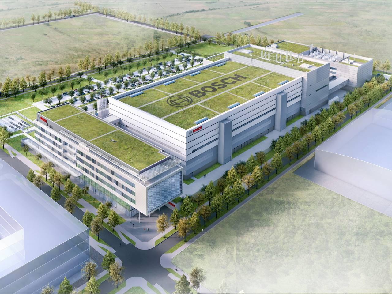 Bild zu Bosch Chipfabrik