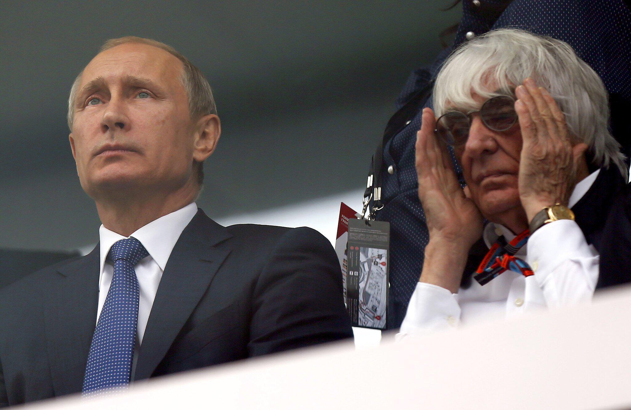 Bild zu Bernie Ecclestone und Wladimir Putin