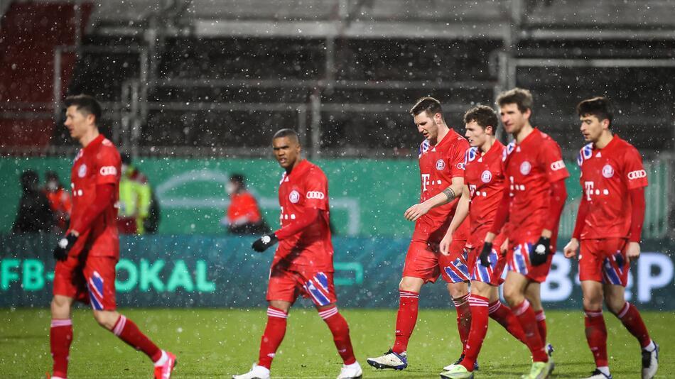 FC Bayern München, Holstein Kiel, DFB-Pokal, 2. Hauptrunde, 2020/21
