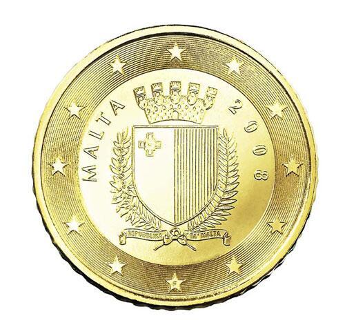 Bild zu 50-Cent-Münze von Malta