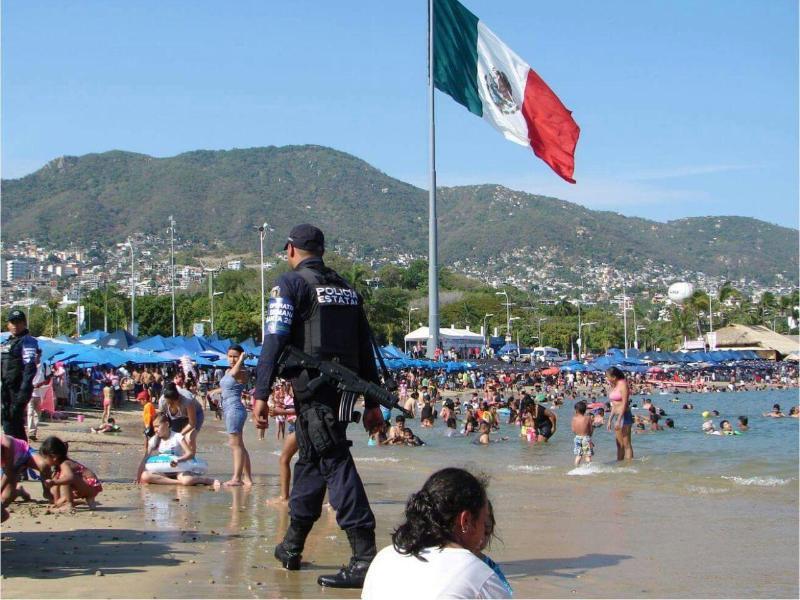 Bild zu Strand von Acapulco