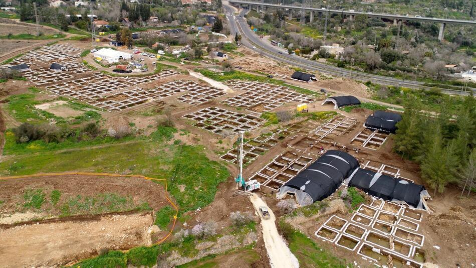Israelische Archäologen entdecken 9000 Jahre alte Siedlung