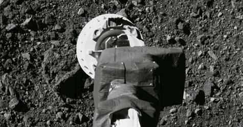 Weltraum-Asteroidengreifer